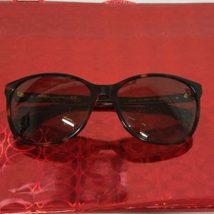 Guess? womens sunglasses brown